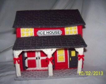 Holiday Christmas Ice House
