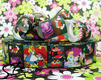 "1"" Wonderland Grosgrain Ribbon"