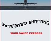 Express Shipping Upgrade, Worldwide Expedited Shipping, Fast Shipping, Rush Order