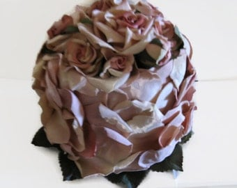 Faux Floral Cake Rose Petal Pink Bridal Decorating Shabby Chic