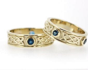 Celtic Ring Set in 9ct Gold