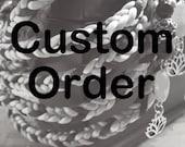 Custom Handfasting Cord for Kristen