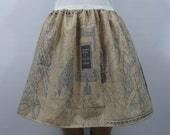 I solemnly swear I'm up to no good - full skirt - made to order