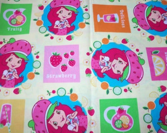 Strawberry Shortcake Teen Fabric  Cute New BTFQ
