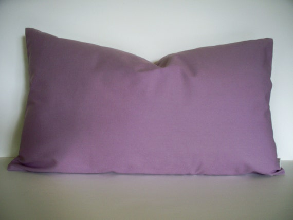 Solid Purple Decorative Pillows : Solid Purple Decorative Pillow Cover Dark Purple by linenandoak