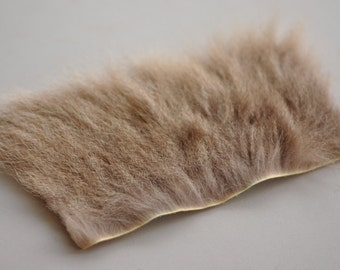 Real Tanned Kangaroo Hide Piece