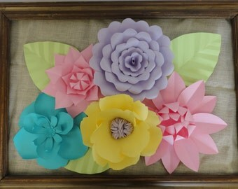 Large Paper Flowers - Rose Extra Large Flowers Wedding Arch Flowers Doorway Decor