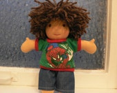 Custom 9 inch Doll - Reserved for Jessica