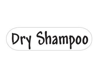 Yankee Homestead Dry Shampoo Labels - 115 Petite Dishwasher Safe Labels