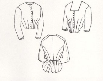 TV400 - Truly Victorian #400, 1871 Day Bodice Sewing Pattern
