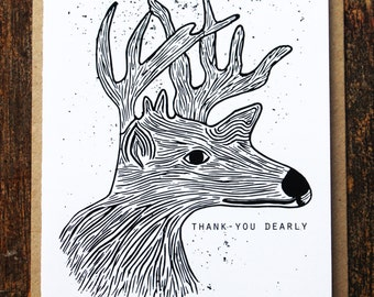 Thank-you Dearly Card