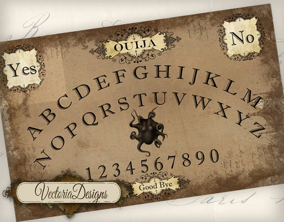 Clean image pertaining to printable ouija boards