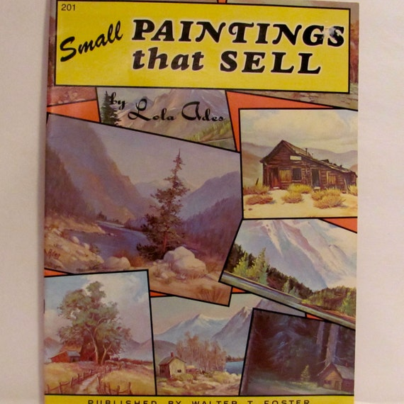 Small paintings that sell book for Best way to sell paintings online