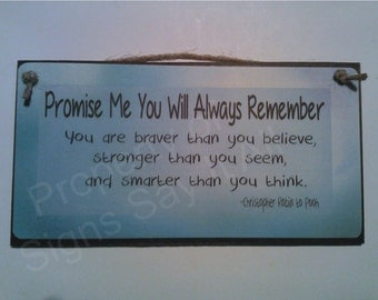 Promise Me You Will Always Remember
