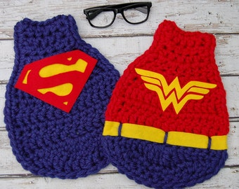 Photographers Special: Inspired Super Hero Capes with Glasses  3 Piece Set