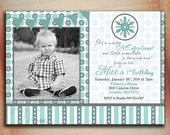 Winter ONEderland Birthday Invitations-DIY Printable