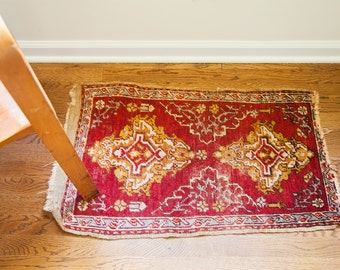 DISCOUNTED 2x3 Small Turkish Scatter Rug