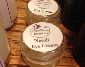 Neroli Eye Cream by MoonDance Botanicals;  Herbal Eye Cream; Botanical Anti Aging Eye Cream