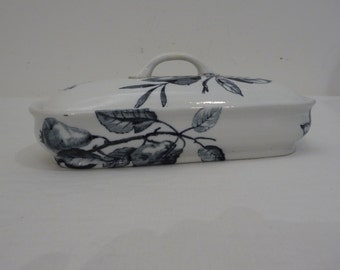 Ironstone Toothbrush Holder