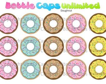 "15 Doughnut Download for 1"" Bottle Caps (4x6)"