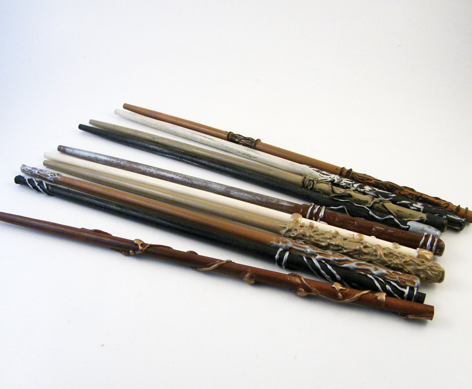 Wizard wands magic wands party favors natural series for Wizard wand