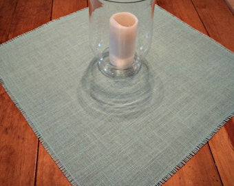 "Pick Your Color Burlap Table Squares 12"" up to 16"" Burlap Centerpiece"