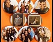 """8 Brand New 1"""" """"Seinfeld"""" Button Set"""