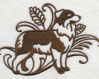 Graceful Shepherd Embroidered Flour Sack Hand/Dish Towel