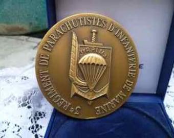 vintage french medal