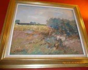Vintage beautiful painting