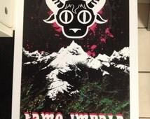 Tame Impala band poster print