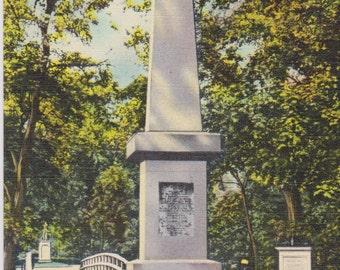 Concord, Massachusetts, Old North Bridge, Monument - Vintage Postcard - Postcard - Unused (GG)