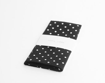 Pocket square, mens, dotted