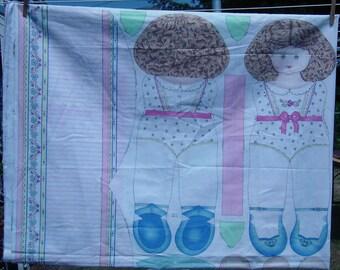 Mary Jane Doll - Daisy Kingdom Fabric Panel