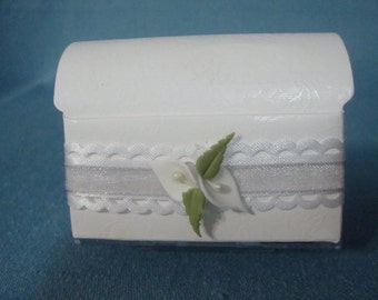 Wedding Calla Lily Favor Boxes