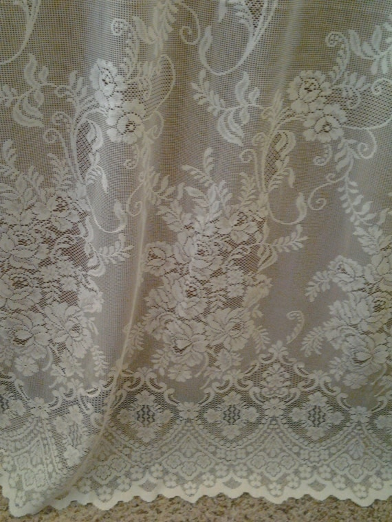 28 extra wide lace curtains pretty white lace curtain panel