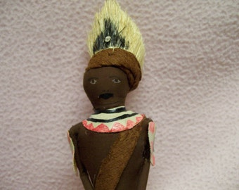 Kenya Africa Doll Traditional Costume Doll from Chuka Tribe
