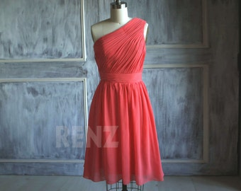 Red bridesmaid dress | Etsy