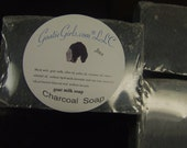 Activated Charcoal Soap with Lavender Tea Tree and Goat Milk