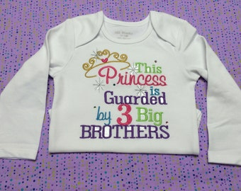 Princess is Guarded by Big Brothers -- You choose Number