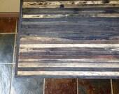 40% OFF SALE - Barnwood Coffee Table - Industrial Furniture - Modern Reclaimed Barn Wood Rustic Wood and Vintage Hairpin Legs