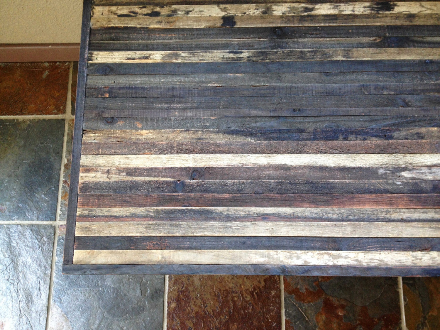 25% OFF Sale - Coffee Table - Barn wood Industrial Furniture - Modern Reclaimed  Barnwood - Barnwood Table Etsy