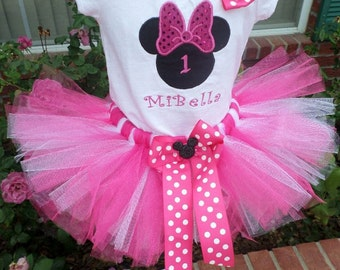 Miss Mouse Inspired  tutu set
