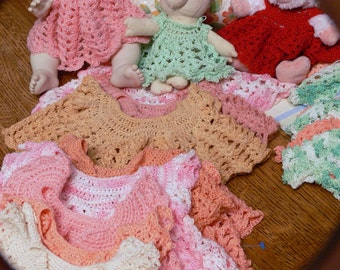 doll clothes hand knitted