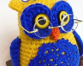 Ikeiko the owl - amigurumi PDF ebook crochet pattern