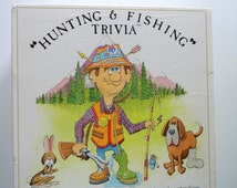 Vintage Hunting & Fishing Trivia Game 1985