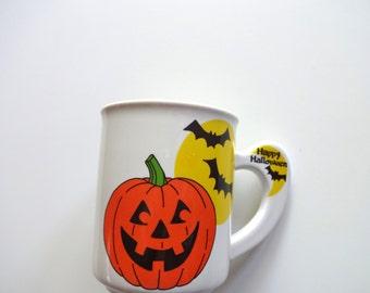 Vintage Happy Halloween Coffee Mug 1988
