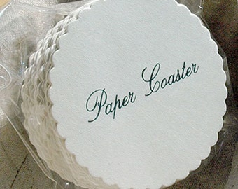 Paper Coaster Wave Pattern