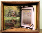 iPad 4 book cover, iPad 3 book cover, iPad 2 book cover - The Getaway Home - handmade by ReAuthored