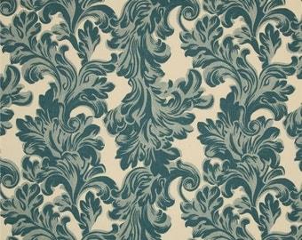Two  26 x 26  Custom Designer Decorative Pillow Covers Euro Shams  -  Village Blue/Natural